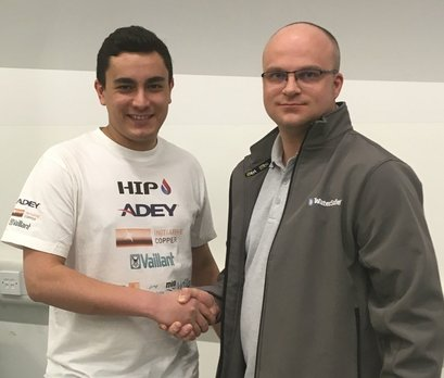 WaterSafe's Gareth judges HIP UK Heating Apprentice of the Year
