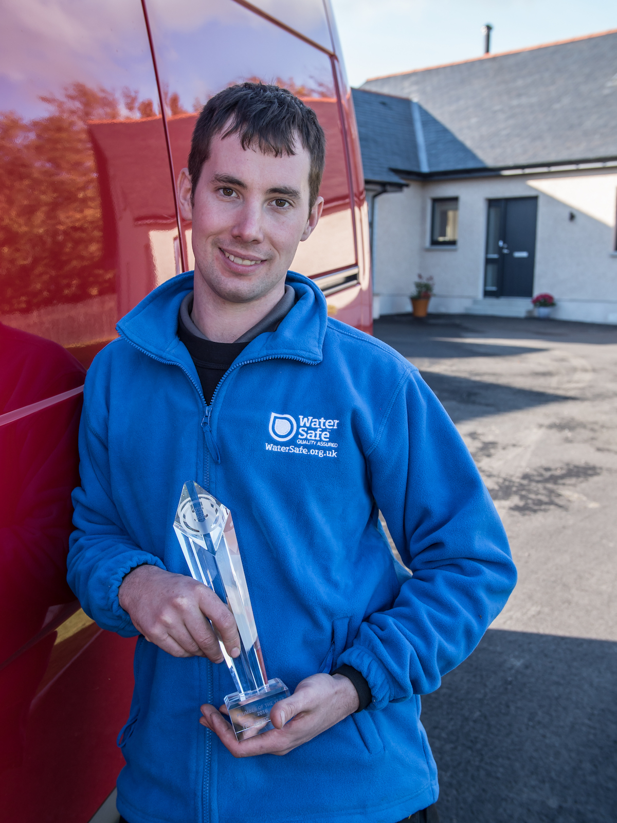 plumber of the year shaun scott explains what makes a good plumber