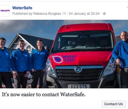 WaterSafe Launches a New Facebook Page